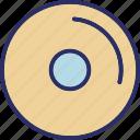 cd, disc, dvd, movie, video icon