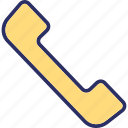 helpline, phone receiver, receiver, telephone, telephone call icon