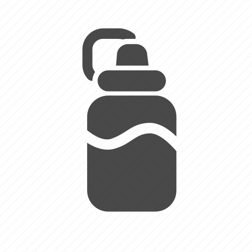 bottle, individual, tourism, water icon