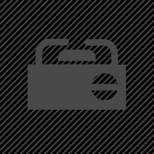 electric, individual, portable, stove, tourism icon