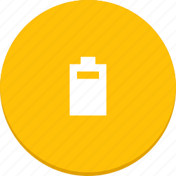battery, charge, electricity, material design, power icon