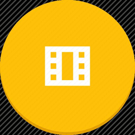 film, material design, media, movie, video icon