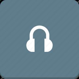 audio, headphones, material design, media, music, player, sound icon
