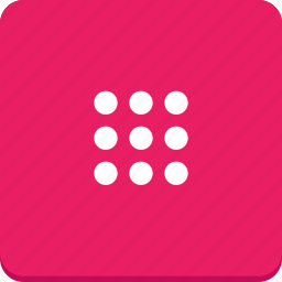 buttons, keyboard, material design, mobile icon
