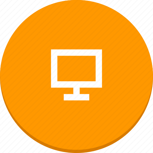 computer, desktop, material design, monitor, pc, screen icon