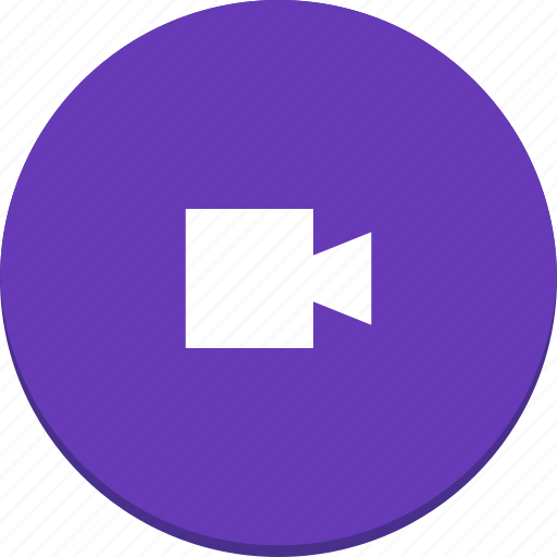 camera, film, material design, media, movie, video icon