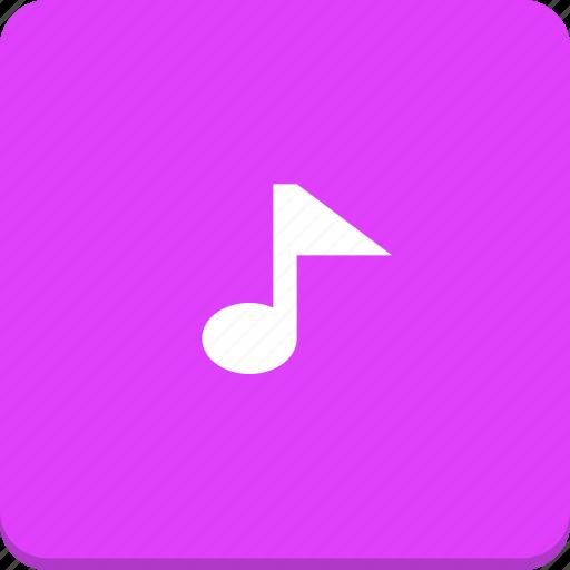 audio, material design, media, music, note, sound icon