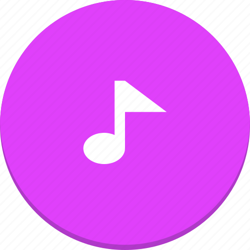 audio, material design, media, music, note, sound icon