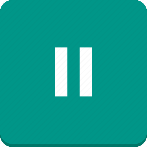 audio, material design, media, pause, player, video icon