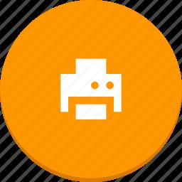 device, material design, print, printer icon