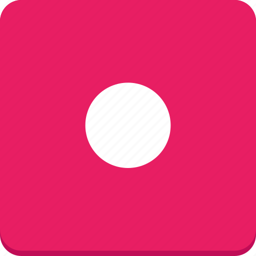 audio, material design, media, music, record, video icon