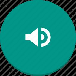 audio, material design, media, music, sound, volume icon