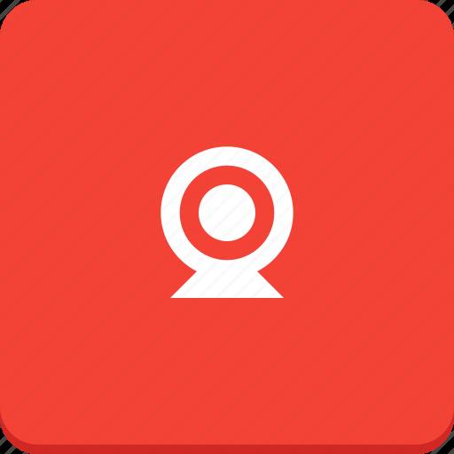 device, material design, media, video, web, webcam icon