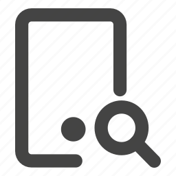 cell, cellphone, mobile, mobilephone, phone, search, smartphone icon