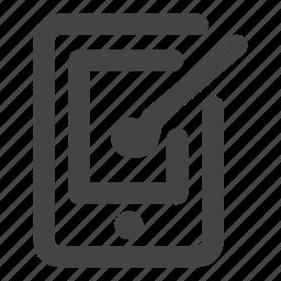 design, device, screen, smartphone, tablet icon