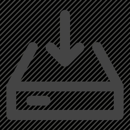data, data download, device, harddisk, hardware, ssd, storage icon