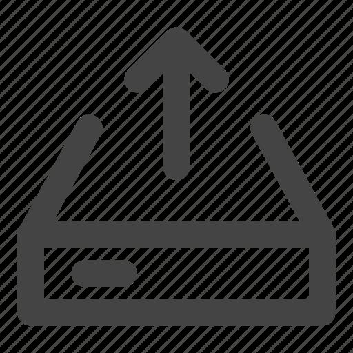 data, data upload, device, hard disk, hardware, ssd, storage icon