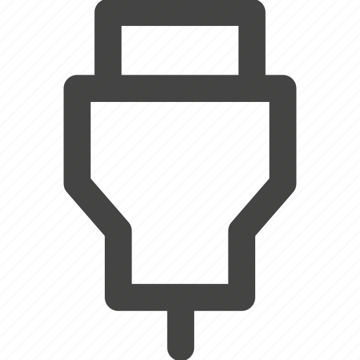 cable, connector, stick, usb, usb stick icon