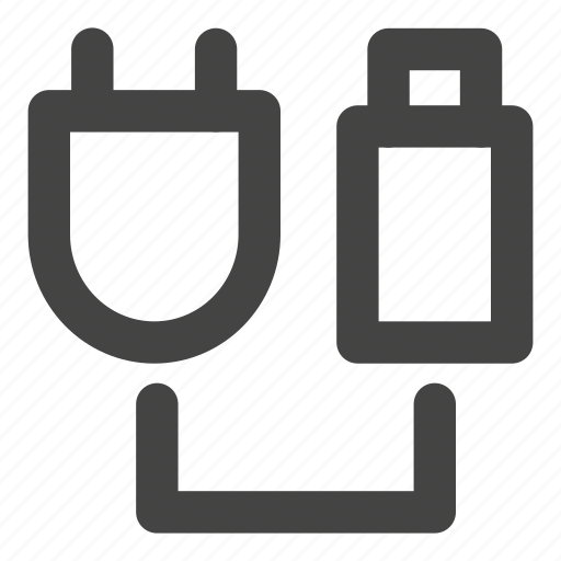 cable, connector, plug, socket, usb, usb stick icon