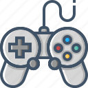 controller, device, game, multimedia, play, player, video icon