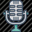 audio, microphone, music, record, sound, speaker, volume icon