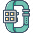 clock, device, gadget, smart, time, timer, watch icon