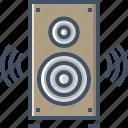 audio, media, multimedia, music, sound, speaker, volume icon