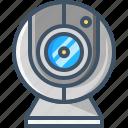 camera, device, film, media, multimedia, video, webcam icon