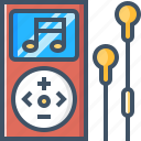 audio, media, mp3, multimedia, music, play, player icon