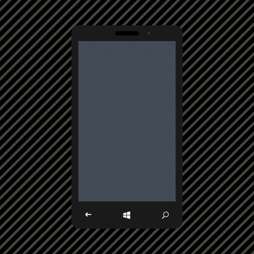 blackcolor, lumia, microsoft, microsoftlumia535, mobile, nokia, phone icon