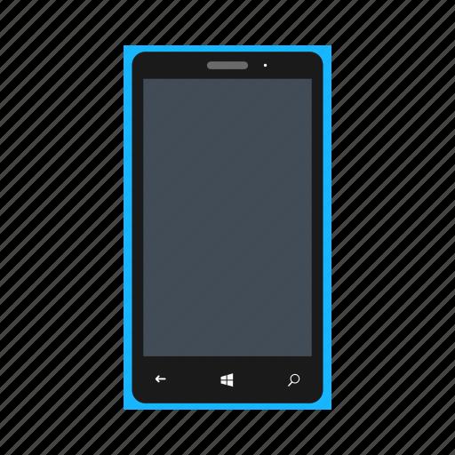 bluecolor, lumia, microsoft, microsoftlumia535, mobile, nokia, phone icon
