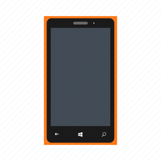 lumia, microsoft, microsoftlumia535, mobile, nokia, orangecolor, phone icon