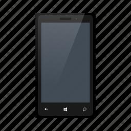 blackcolor, lumia, microsoft, microsoftlumia, mobile, nokia, phone icon