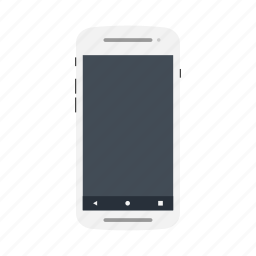 android, androidos, androidphone, googlephone, mobile, phone, whitecolor icon