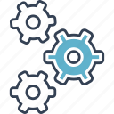 development, repair, settings icon