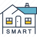 development, house, internet, smart icon