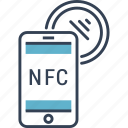 development, nfc, telephone icon