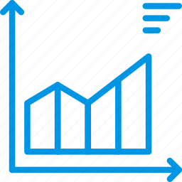 analytics, chart, graph, presentation icon