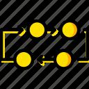 diagram, analytics, chart, graph icon