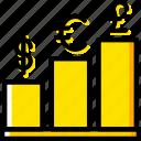 analytics, presentation, chart, graph icon