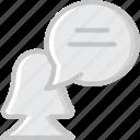 communication, conversation, dialogue, discussion