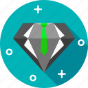 diamond, ring, ruby icon