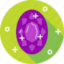 crystal, diamond, jewel, stone icon