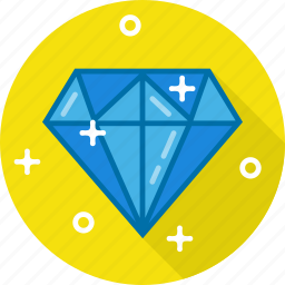 crystal, diamond, jewel, ruby icon