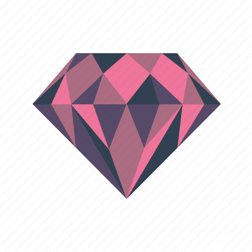 Diamond, gem, jewel, jewelry, treasure icon - Download on Iconfinder