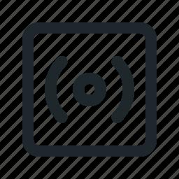 af, camera, function, mode icon