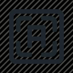 auto, autofocus, function, photography icon