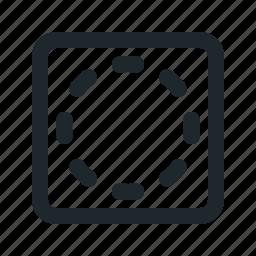 vignetting icon