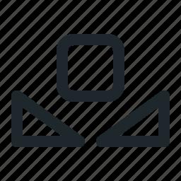 balance, white icon