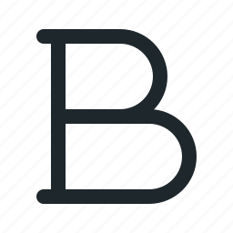 bold, font, style, text icon
